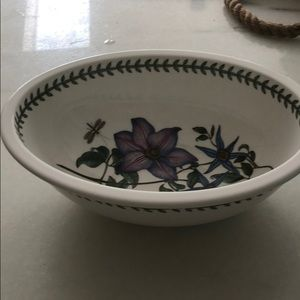 Portmeirion  oval bowl